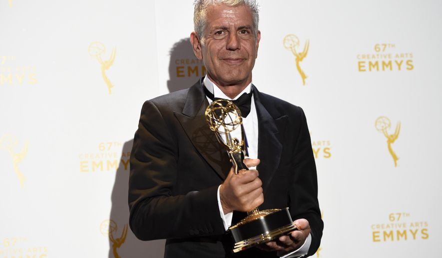 file in this saturday sept 12 2015 file photo anthony bourdain - Olive Garden Review
