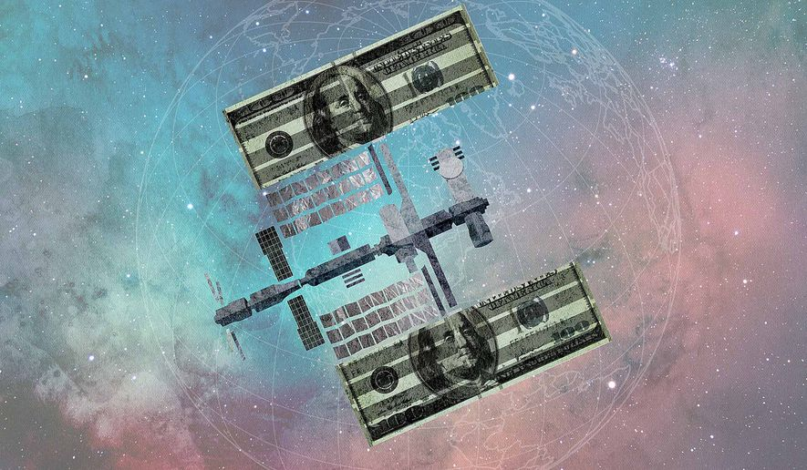 International Space Station Illustration by Greg Groesch/The Washington Times