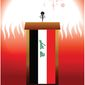 Illustration on the ascendancy of al-Sadr by Linas Garsys/The Washington Times