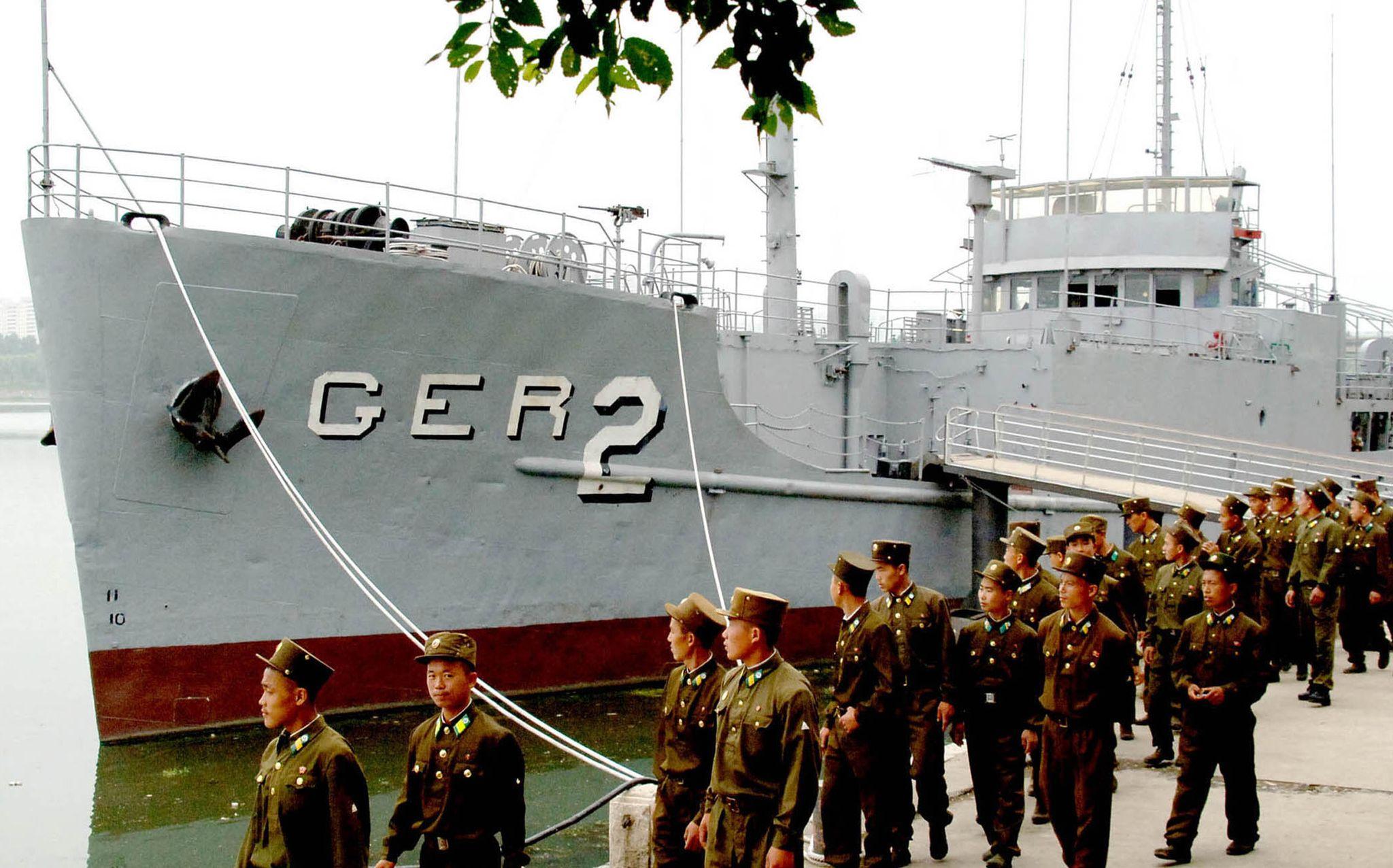 USS Pueblo still held hostage by North Korea as Trump, Kim meet