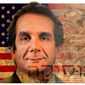 Illustration on Charles Krauthammer by Alexander Hunter/The Washington Times
