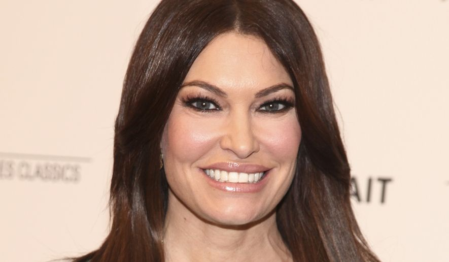 "Kimberly Guilfoyle attends a special screening of ""Final Portrait"" at the Solomon R. Guggenheim Museum on Thursday, March 22, 2018, in New York. (Photo by Andy Kropa/Invision/AP)"