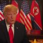 President Donald Trump on ABC News.