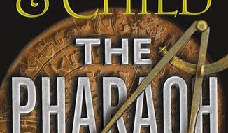 """This cover image released by Grand Central Publishing shows """"The Pharaoh Key,"""" by Douglas Preston & Lincoln Child. (Grand Central Publishing via AP)"""