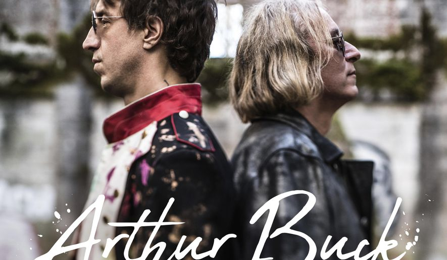 """This cover image released by New West Records shows """"Arthur Buck,"""" a new release by Joseph Arthur & Peter Buck. (New West Records via AP)"""