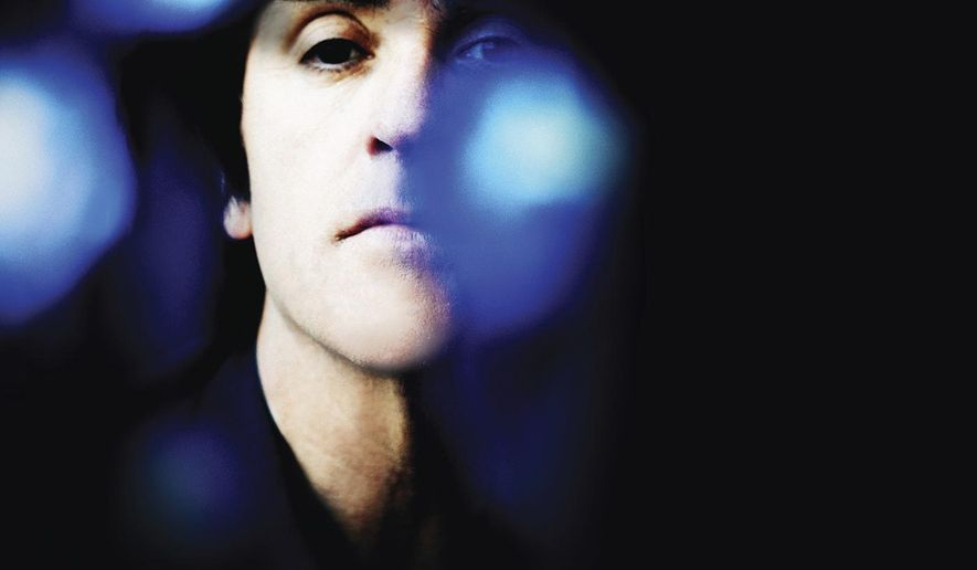 """This cover image released by New Voodoo Records shows """"Call the Comet,"""" a release by Johnny Marr. (New Voodoo Records via AP)"""