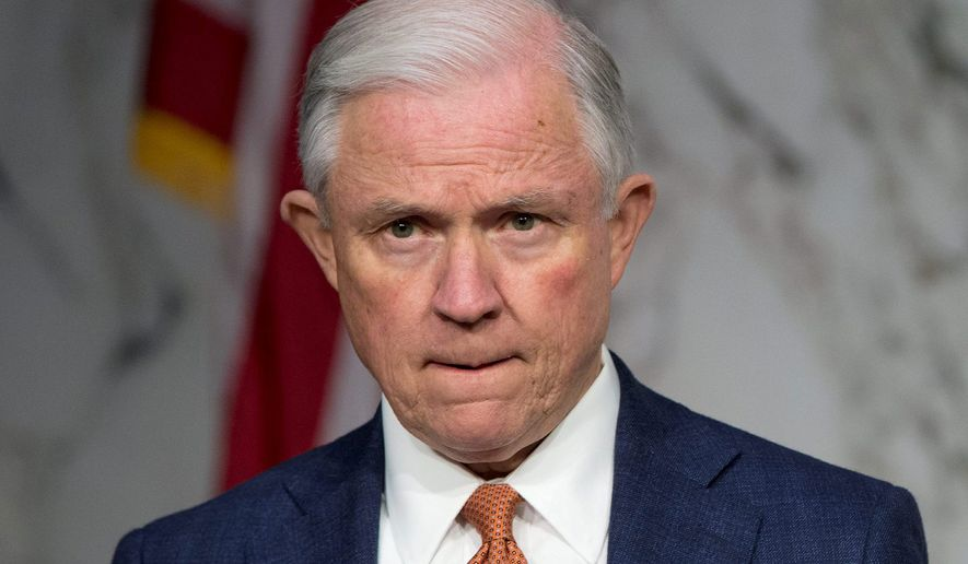 Attorney General Jeff Sessions. (Associated Press) ** FILE **