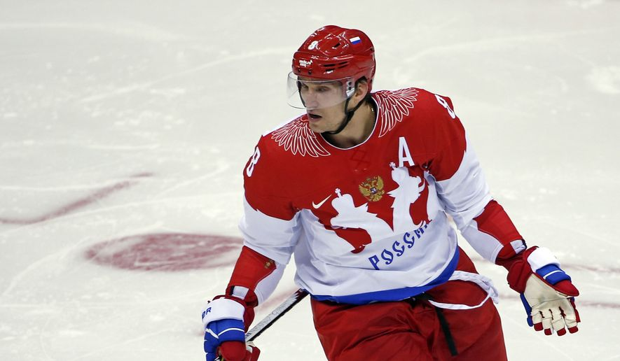 When Alex Ovechkin competed for Russia in the 2014 Winter Olympics in Sochi, the Capitals later failed to make the playoffs. By the NHL not allowing its players to play in the 2018 Games, the move may have helped Washington win the Stanley Cup. (Associated Press)