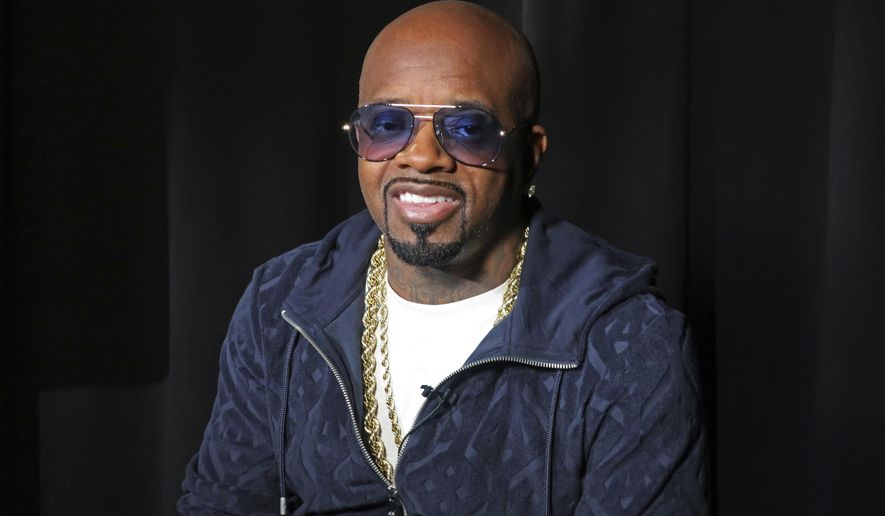 This May 24, 2018 photo shows music maker Jermaine Dupri during an interview in New York. Dupri will be inducted into the Songwriters Hall of Fame on Thursday, June 14. (AP Photo/John Carucci)