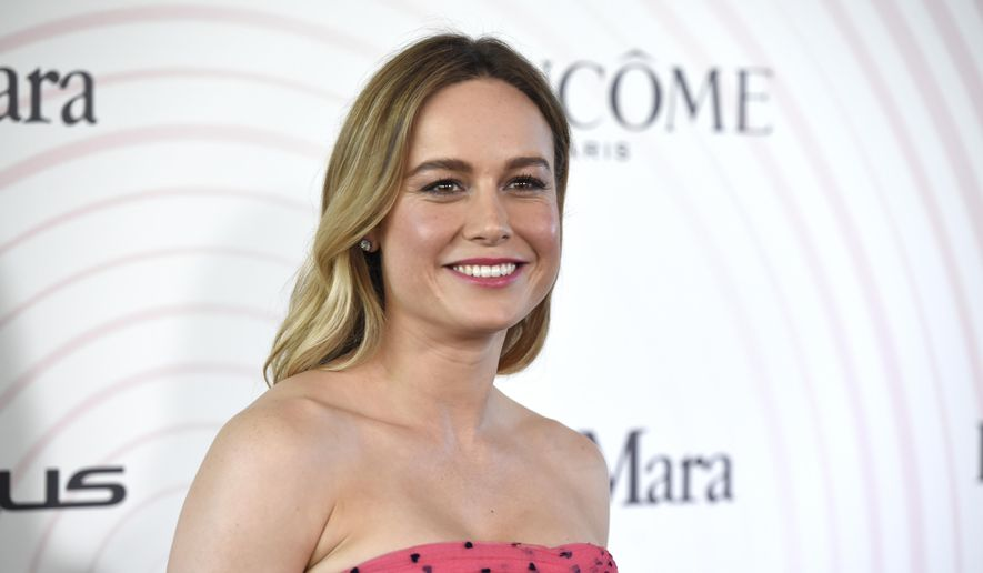Brie Larson arrives at the Women In Film Crystal and Lucy Awards at the Beverly Hilton Hotel on Wednesday, June 13, 2018, in Beverly Hills, Calif. (Photo by Chris Pizzello/Invision/AP) ** FILE **