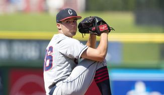 Tim Cate hopes to one day earn a spot at a big league stadium as a lefty pitcher. The former University of Connecticut standout began that journey this week in West Palm Beach, Florida, after he signed with the Washington Nationals on Tuesday.(Courtesy of the University of Connecticut).