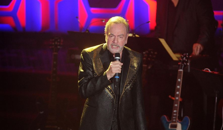 Neil Diamond performs during the 49th annual Songwriters Hall of Fame Induction and Awards gala at the New York Marriott Marquis Hotel on Thursday, June 14, 2018, in New York. (Photo by Brad Barket/Invision/AP)