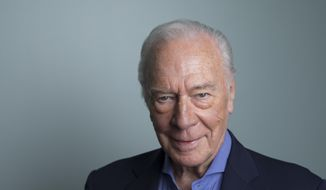 """In this June 11, 2018, file photo, Christopher Plummer poses for a portrait to promote his film """"Boundaries"""" in New York. (Photo by Amy Sussman/Invision/AP) ** FILE **"""