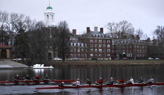 Harvard and the group Students for Fair Admissions will file dueling analyses of the Ivy League school's admissions data in a lawsuit alleging discrimination against Asian-American applicants. (AP Photo/Charles Krupa)