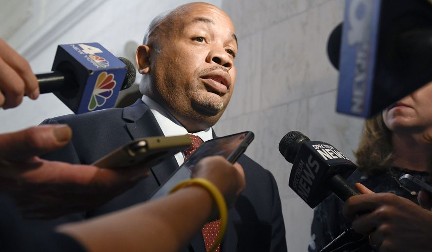 Assembly Speaker Carl Heastie says Democrats in his chamber believe all Americans deserve a health care system that guarantees coverage for all. (Associated Press)