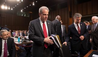 Justice Department Inspector General Michael Horowitz said his team found major problems with the FBI's handling of the Clinton probe in 2016. (Associated Press)