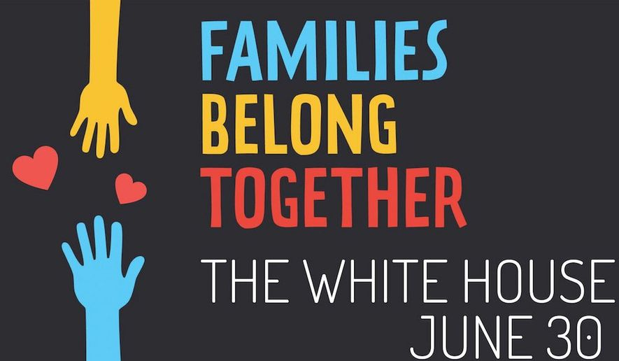 A coalition of more than 40 progressive groups have organized a rally outside the White House and 100 marches around the country later this month to protest Trump administration immigration policies. (Moveon.org)