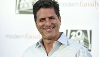 "FILE - In this May 3, 2017 file photo, Steve Levitan arrives at the ""Modern Family"" FYC Event in Los Angeles. Levitan raised the possibility of no longer working with the 20th Century Fox television studio after tweeting his disgust following comments by Laura Ingraham on Fox News Channel, and her description of ""zero tolerance"" detention facilities for children separated from their parents as ""essentially summer camps."" (Photo by Jordan Strauss/Invision/AP, File)"