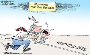 Running for the border