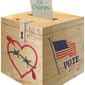 Last Hope Before Election Illustration by Greg Groesch/The Washington Times