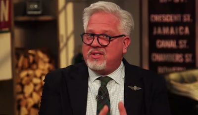 Radio host Glenn Beck tells colleagues on June 20, 2018, that he begged media outlets to cover conditions on the southern U.S. border in 2014 but was ignored. (Image: Facebook, The Blaze)