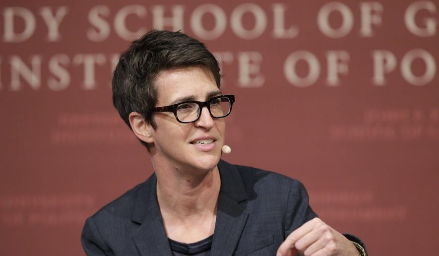 "MSNBC television anchor Rachel Maddow, host of ""The Rachel Maddow Show."" (AP Photo/Steven Senne, File)"