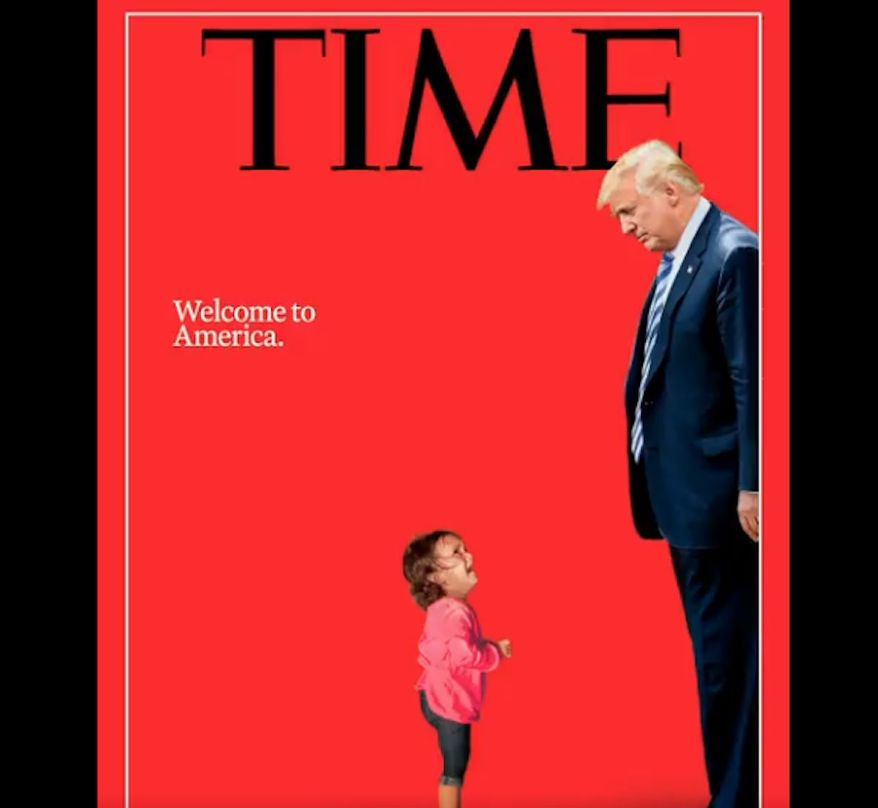 (Image: Screen grab of Time Magazine's July cover from @TIME)