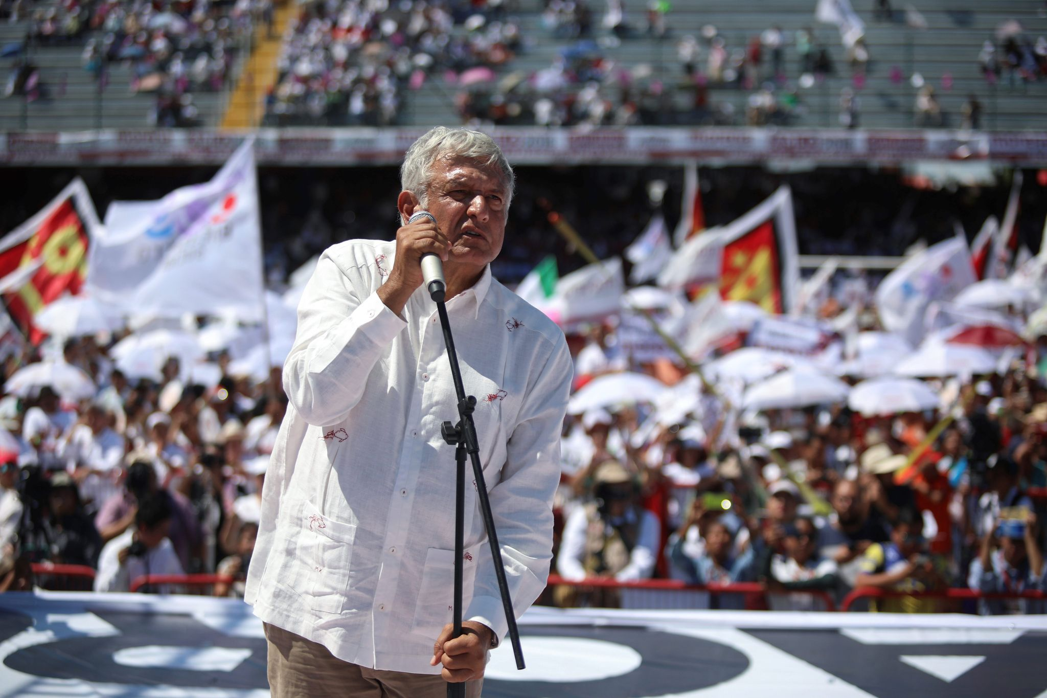 Andres Manuel Lopez Obrador, in lead for Mexico president, has many guessing - Washington Times
