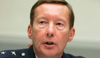 """A Space Force as the sixth branch of the armed forces is a really bad idea,"" said retired Maj. Gen. Charles J. Dunlap, who hopes Congress kills the idea. (Associated Press/File)"