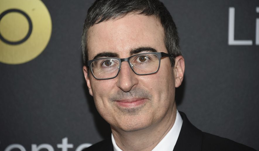 John Oliver attends the Lincoln Center for the Performing Arts American Songbook Gala at Alice Tully Hall on Tuesday, May 29, 2018, in New York. (Photo by Evan Agostini/Invision/AP)