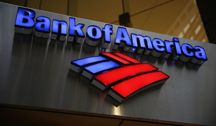 Bank of America stopped providing financing to companies that make AR-style guns. (Associated Press)
