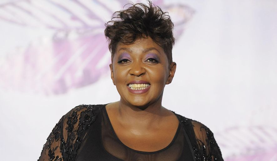In this June 26, 2011, file photo, Anita Baker appears at the BET Awards in Los Angeles. Baker will be honored at the 2018 BET Awards on Sunday. (AP Photo/Chris Pizzello, File)