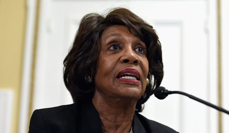 Rep. Maxine Waters. (Associated Press) ** FILE **