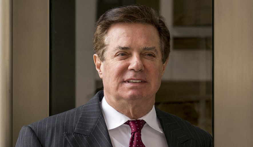 "Paul Manafort, a former Trump campaign chairman, got no help from District Court Judge T.S. Ellis III on his motion to dismiss an indictment because the purported conduct had nothing to do with the 2016 presidential election. In denying the petition, the judge defined ""any link"" to Russia as ""indirect link."" (Associated Press/File)"