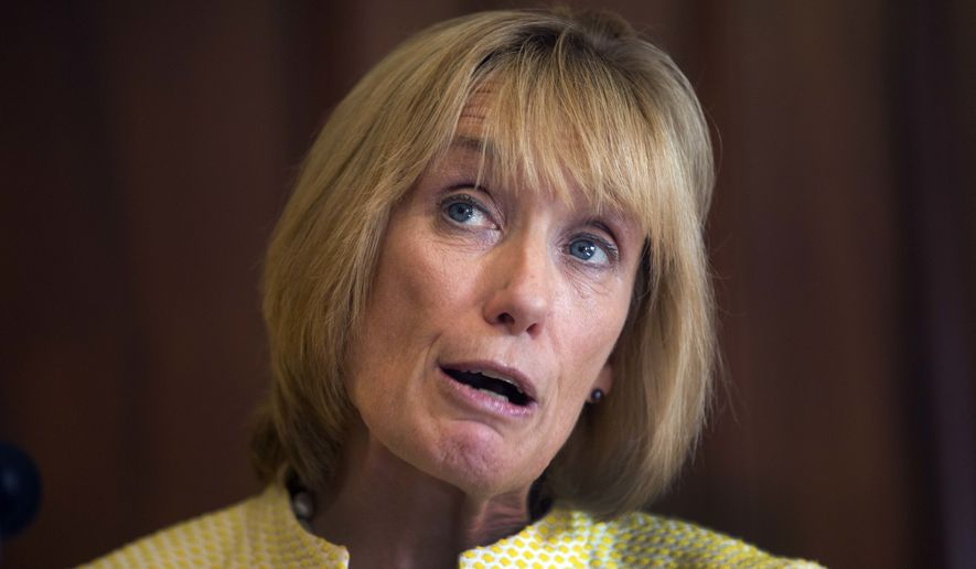 Maggie Hassan defends intern Caitlin Marriott's one-week suspension