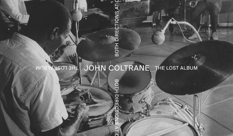 """This cover image released by impulse! shows """"Both Directions At Once: The Lost Album,"""" by John Coltrane. (impulse! via AP)"""