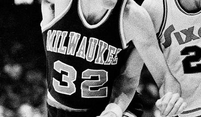 Brian Winters played in the NBA with the Los Angeles Lakers and Milwaukee Bucks in the 1970s and early 1980s.