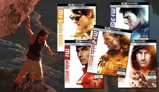 """""""Mission: Impossible,"""" """"Mission: Impossible 2,"""" """"Mission: Impossible III,"""" """"Mission: Impossible – Ghost Protocol"""" and """"Mission: Impossible – Rogue Nation"""" are now available on 4K Ultra HD from Paramount Pictures Home Entertainment."""