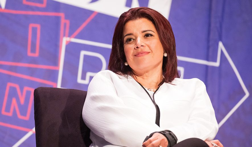CNN commentator and Republican Party strategist Ana Navarro moved from Nicaragua to the U.S. as a girl during another spate of violence in 1980. (Associated Press/File)