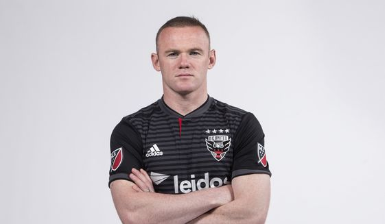 3fc149912 Wayne Rooney officially signs with D.C. United - Washington Times