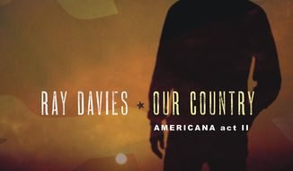 """CORRECTS LABEL - This cover image released by Sony Legacy shows """"Our Country: Americana Act 2,"""" a release by Ray Davies. (Sony Legacy via AP)"""