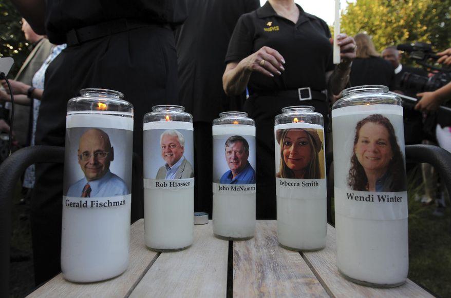 Trump Signs Fallen Journalists Memorial Act Authorizing Monument Honoring Slain Capital Gazette Reporters