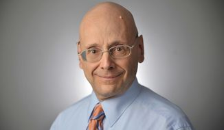 This undated photo shows Gerald Fischman, Opinion Page Editor, member of Capital Gazette Editorial Board.  Fischman was one of the victims when an active shooter targeted the newsroom, Thursday, June 28, 2018 in Annapolis, Md.  (The Baltimore Sun via AP)