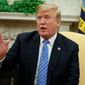 "President Trump will not back down from fighting for a ""fair playing field"" for American workers and industries that have suffered from lopsided trade deals, said press secretary Sarah Huckabee Sanders. But opposition at home and abroad is starting to mount. (Associated Press)"