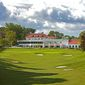 An image of the clubhouse at Columbia Country Club in Chevy Chase, Md. The course will host the 2021 U.S. Girls' Junior Golf Championship, a USGA amateur championship. (Photo courtesy of USGA)