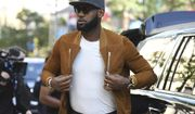 """FILE - In this Sept. 9, 2017, file photo, executive producer LeBron James attends a premiere for """"The Carter Effect"""" on day 3 of the Toronto International Film Festival at the Princess of Wales Theatre, in Toronto. LeBron James has gone from hot in Cleveland to high on Hollywood. James had movie and TV projects gestating long before he came to California to join the Los Angeles Lakers, and has the star power to now have a shot at a lot more. (Photo by Arthur Mola/Invision/AP) ** FILE **"""