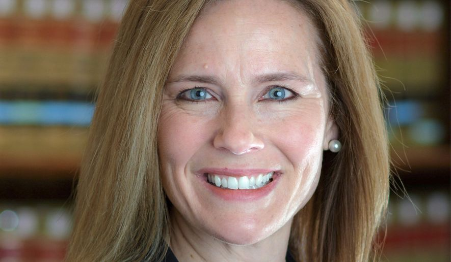 Judge Amy Coney Barrett. (Associated Press)