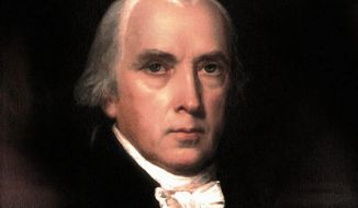 President James Madison. (Associated Press) ** FILE **