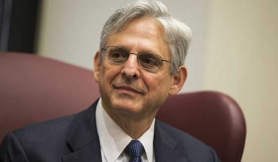 Judge Merrick Garland was nominated to the Supreme Court at a time when American voters had expressly put Republicans in charge of the Senate. (Associated Press/File)