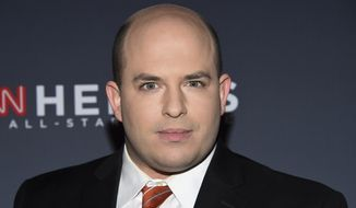 Brian Stelter attends the 11th annual CNN Heroes: An All-Star Tribute at the American Museum of Natural History on Sunday, Dec. 17, 2017, in New York. (Photo by Evan Agostini/Invision/AP) ** FILE **